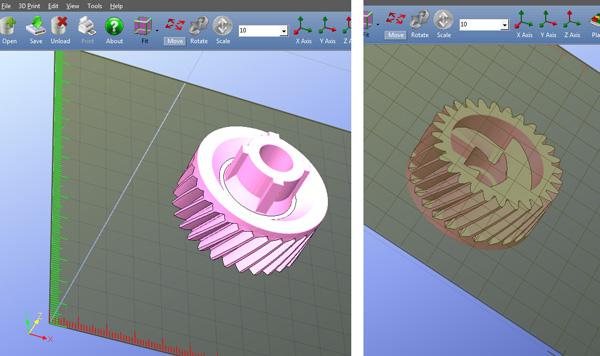 3D печать в Ростове-на-Дону PLA,ABS
